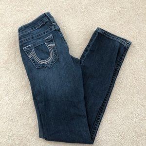 Women's True Religion straight leg jeans
